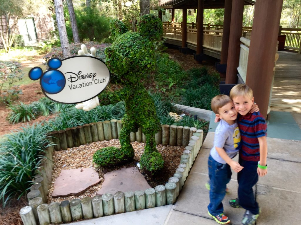 The boys at the Wilderness Lodge villas. Disney is doing something unprecedented by adding more DVC to a resort where it already exists. We love the lodge!