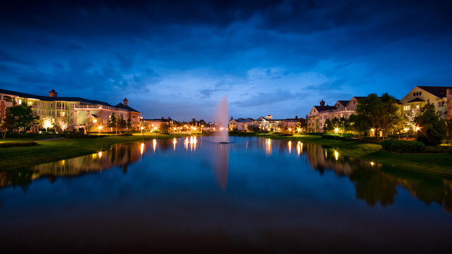 Saratoga Springs is a sprawling resort that is all DVC. It feels more like a moderate but is located within walking distance to Disney Springs. Photo cred: Disney.com